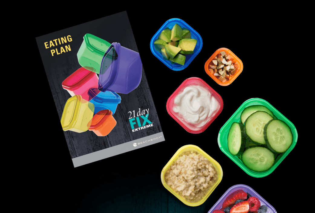 21 Day Fix Extreme Eating Plan